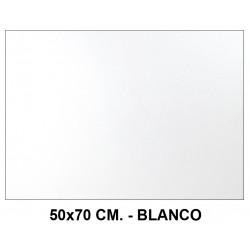 Goma eva con purpurina liderpapel en formato 50x70 cm. de 60 grs/m². color blanco.