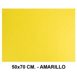 Goma eva con textura toalla liderpapel en formato 50x70 cm. de 60 grs/m². color amarillo.