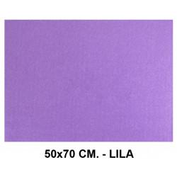 Goma eva con textura toalla liderpapel en formato 50x70 cm. de 60 grs/m². color lila.