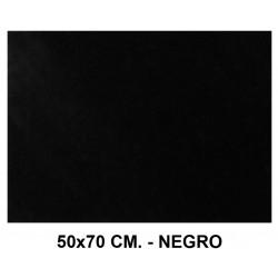 Goma eva con textura toalla liderpapel en formato 50x70 cm. de 60 grs/m². color negro.