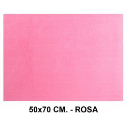 Goma eva con textura toalla liderpapel en formato 50x70 cm. de 60 grs/m². color rosa.