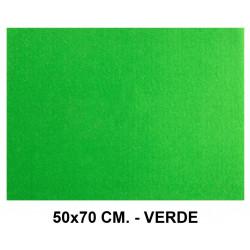 Goma eva con textura toalla liderpapel en formato 50x70 cm. de 60 grs/m². color verde.