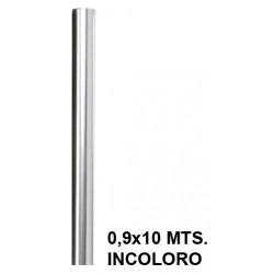 Papel celofán liderpapel en formato 0,6x10 mts. de 30 grs/m². color incoloro.