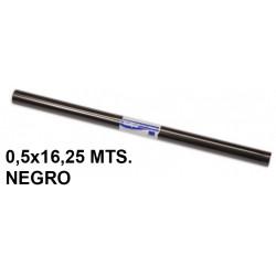 Papel charol sadipal en formato 0,5x16,25 mts. de 65 grs/m². color negro.