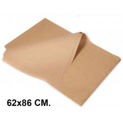 Papel manila csp en formato 62x86 cm. de 28 grs/m². color crema, paquete de 500 hojas.