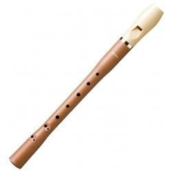 Flauta dulce de madera y plástico desmontable en 2 piezas hohner serie alegra 9585.