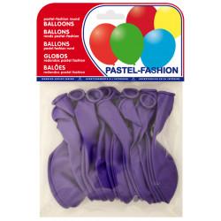Globo balloons® cp redondo de látex 100%, color pastel lila, bolsa de 20 uds.