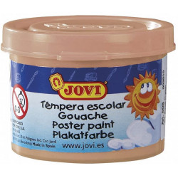 Témpera escolar jovi, bote de 35 ml. color carne.