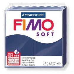Pasta para modelar staedtler fimo® soft 8020, pastilla de 57 grs. color azul windsor.