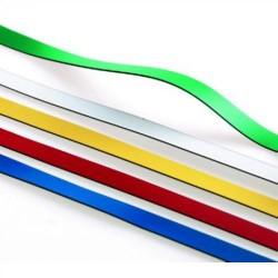 Bolsa de 5 bandas magnéticas en colores surtidos de 9x500 mm.