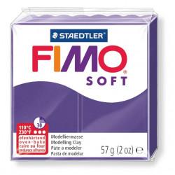 Pasta para modelar staedtler fimo® soft 8020, pastilla de 57 grs. color violeta oscuro.