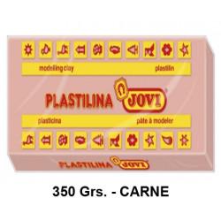 Plastilina jovi, pastilla de 350 grs. color carne.