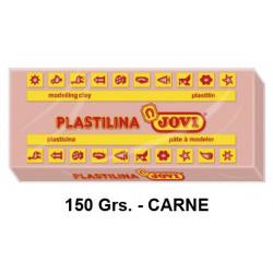Plastilina jovi, pastilla de 150 grs. color carne.