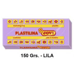 Plastilina jovi, pastilla de 150 grs. color lila.