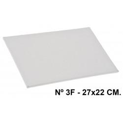 Cartón entelado en tela 100% de algodón artist en formato 27x22 cm.