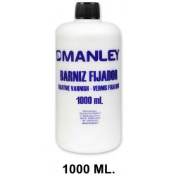 Barniz fijador manley, bote de 1000 ml.