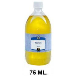 Aceite de lino dalbe, bote de 75 ml.