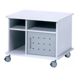 Mueble multiuso rocada rd-4020 6000x750x600 mm. en color gris.