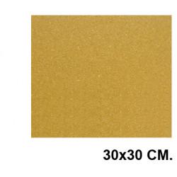 Corcho para uso escolar de 30x30 cm.