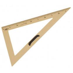 Cartabón para encerado faibo de plástico imitación madera formato 50 cm.