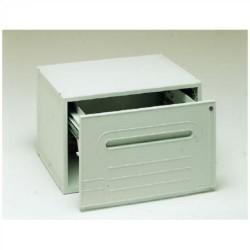 Buck organitec 400 serie 50 para carpetas colgantes de visión superior con apertura frontal 303x474x356 mm. en color gris.