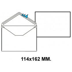 Sobre engomado liderpapel en formato 114x162 mm. offset, 70 grs/m². color blanco.