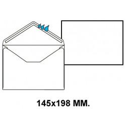 Sobre engomado liderpapel en formato 145x198 mm. offset, 90 grs/m². color blanco.