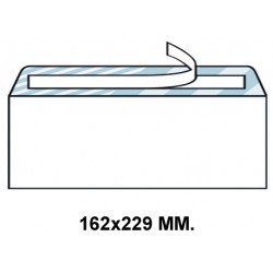 Sobre autodex offset blanco de 162x229 mm.