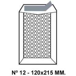 Bolsa burbujas q-connect nº 12 de 120x215 mm. kraft marrón.