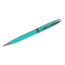 Bolígrafo belius colección marsella, lacado en color verde, presentación en estuche.