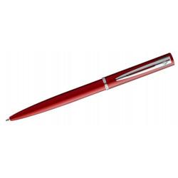 Bolígrafo waterman colección allure, lacado en color rojo brillante, presentación en estuche.