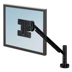Brazo para monitor fellowes smart suites en color negro.