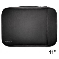 "Funda para portátil kensington universal sleeve de 11"", color negro."