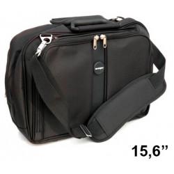 """Maletín para portátil kensington contour™ topload de 15,6"""", color negro."""