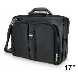 """Maletín para portátil kensington contour™ topload de 17"""", color negro."""