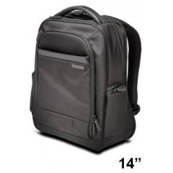 "Mochila para portátil kensington contour™ 2.0 pro executive de 14"", color negro."
