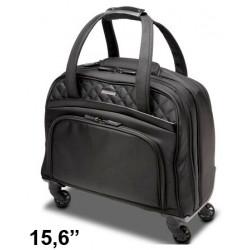 """Maleta para portátil kensington contour™ 2.0 executive de 15,6"""", color negro/rosa."""