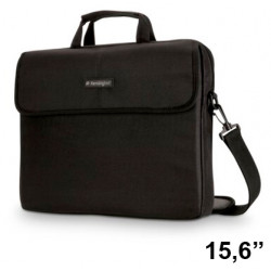 "Maletin para portatil kensington sp10 classic sleeve 15.6"" en color negro."