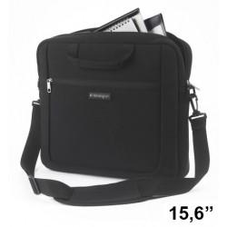 """Maletín para portátil kensington sp15 de 15.6"""", color negro."""