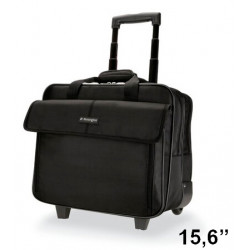 """Maletin para portatil kensington contour 2.0 business 15,6"""" en color negro."""