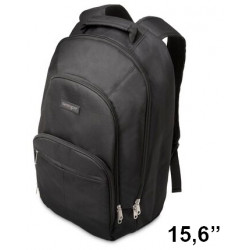 "Mochila para portátil kensington sp25 classic de 15,6"", color negro."