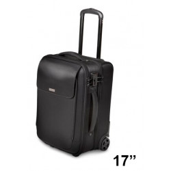 "Trolley para portátil kensington secure trek™ overnight de 17"", color negro."