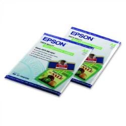 Paquete de 10 hojas de epson photo quality self adhesive paper en din a-4 de 167 grs.