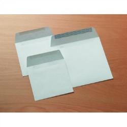 Sobre cuadrado para publicidad autodex offset extra blanco de 175x175 mm.