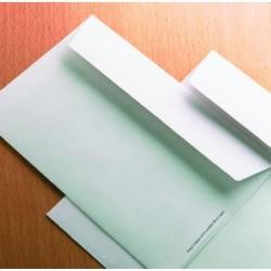 Sobre para publicidad con solapa recta offset blanco de 110x220 mm. especial para inspección postal.