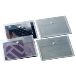 Sobre de polipropileno transparente con lomo de 30 mm. carchivo en folio apaisado.