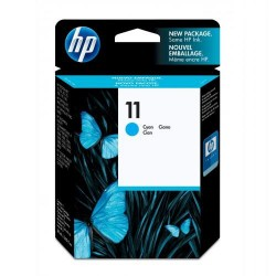 Cartucho ink-jet hewlett packard deskjet 10ps/20ps/50ps nº 11 cyan.