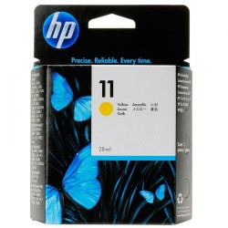 Cartucho ink-jet hewlett packard deskjet 10ps/20ps/50ps nº 11 amarillo.