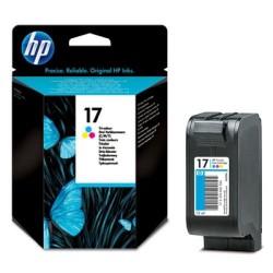 Cartucho ink-jet hewlett packard deskjet 840c/843c nº 17 color.