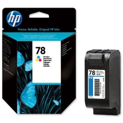 Cartucho ink-jet hewlett packard deskjet 930c/1220c/3820 nº 78 color.